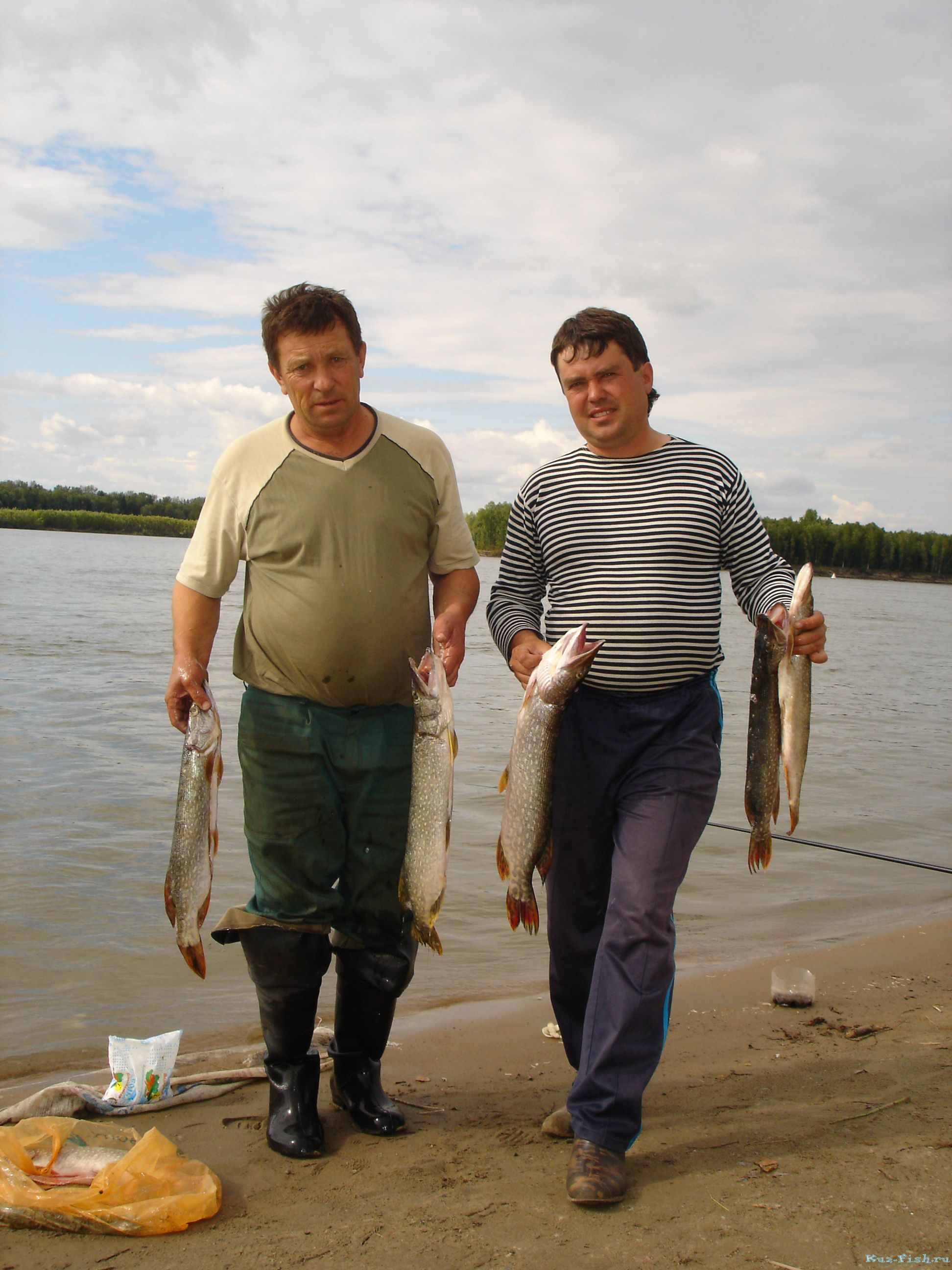 рыбалка бреднем омск