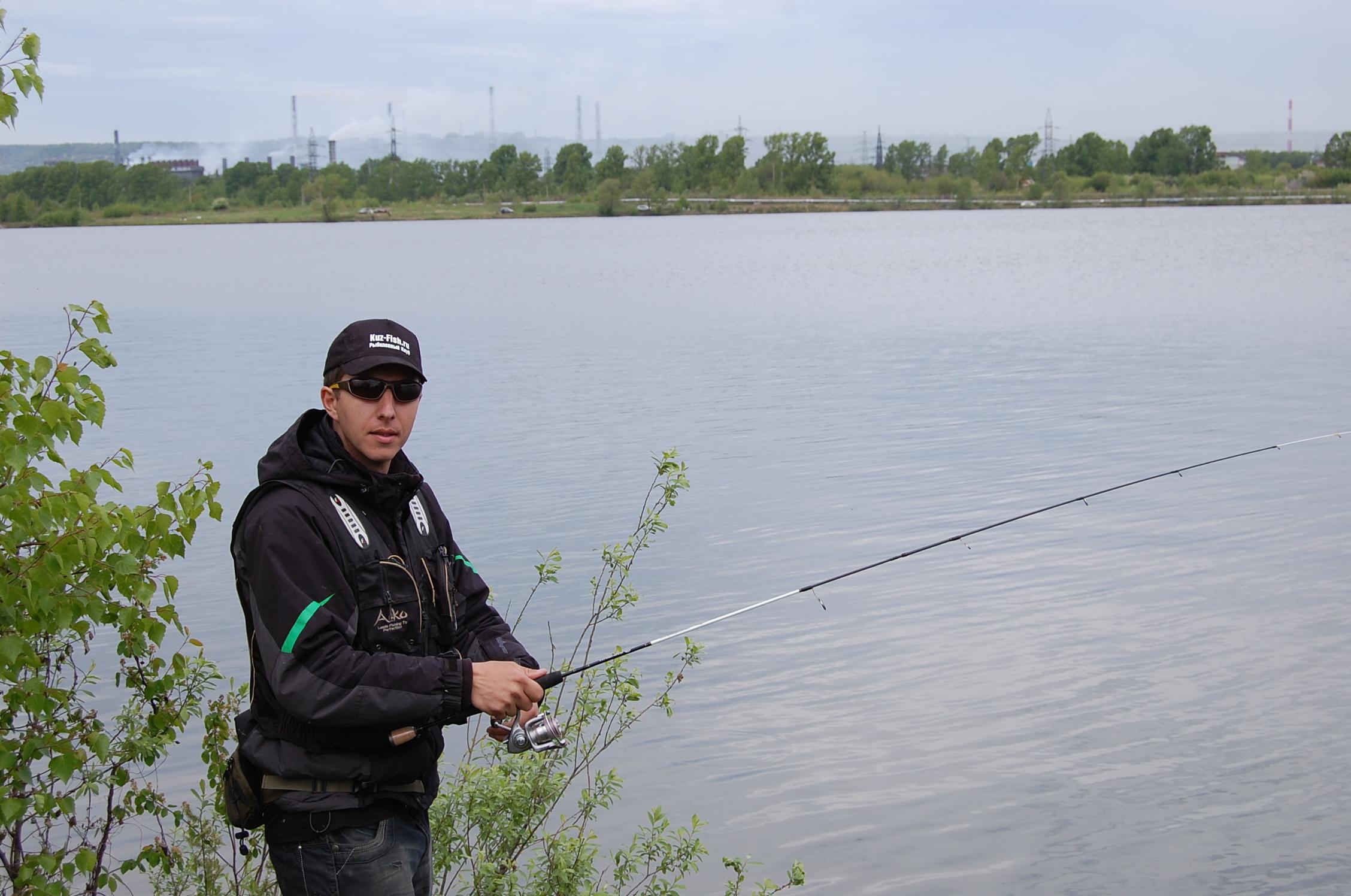 Рыболов в новокузнецке
