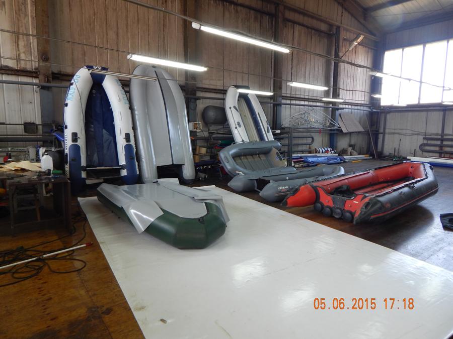 сервисный центр для ремонта лодок из пвх