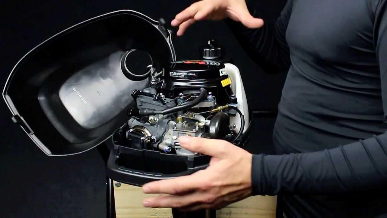 замена масла в двигателе лодочном моторе ямаха 4-х тактный видео