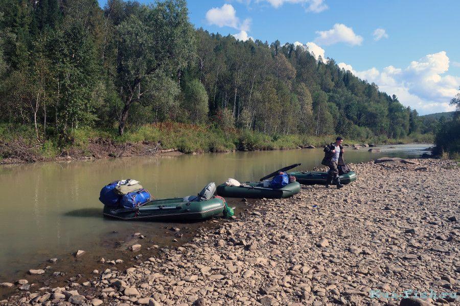 Рыбалка на реке ур кемеровская область