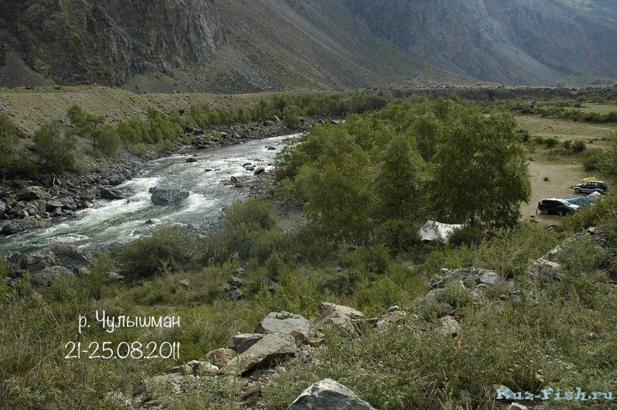 Местность вокруг Чулышмана и основные сведения о реке