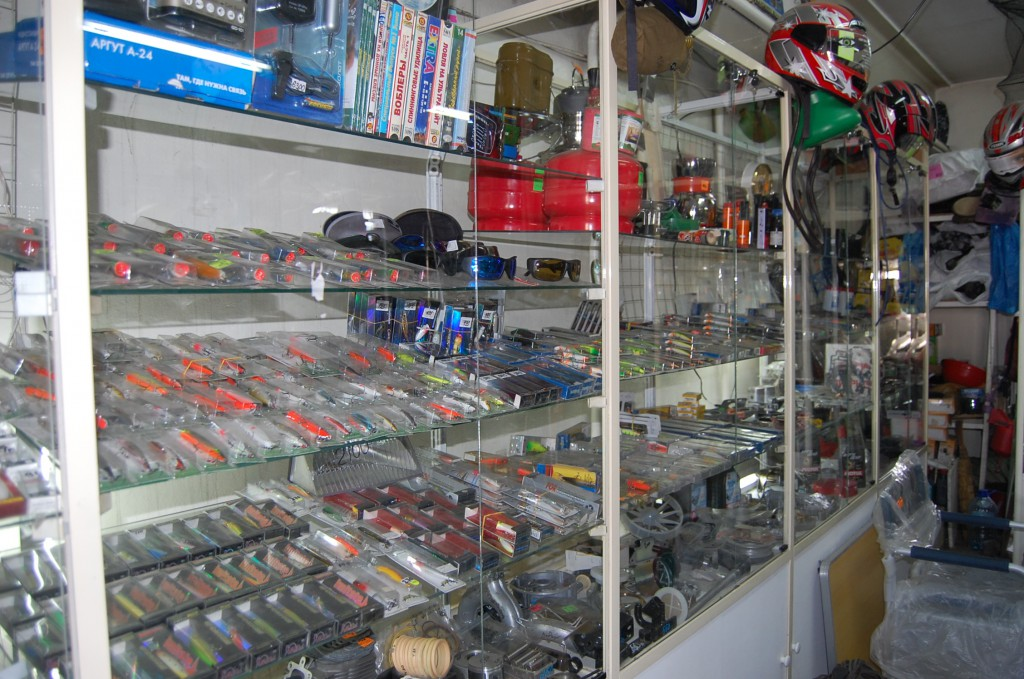 Рыболовные магазины рядом с метро Новокосино