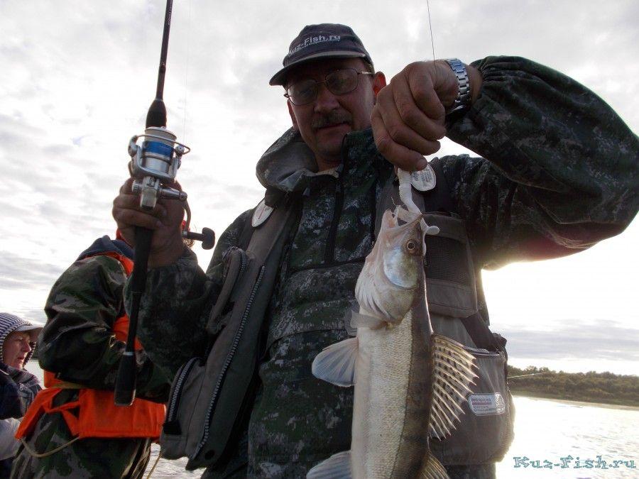 от рыбалки все получили большое удовольствие