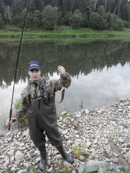 рыбалка на реке кондома