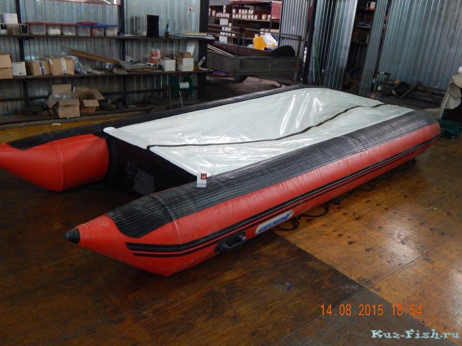 защита надувного дна лодки