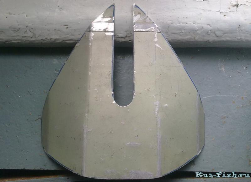 антикавитационное крыло на лодочный мотор своими руками