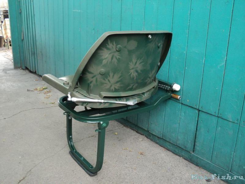 стул на лодку пвх видео