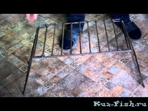 Как сделать решетку для костра