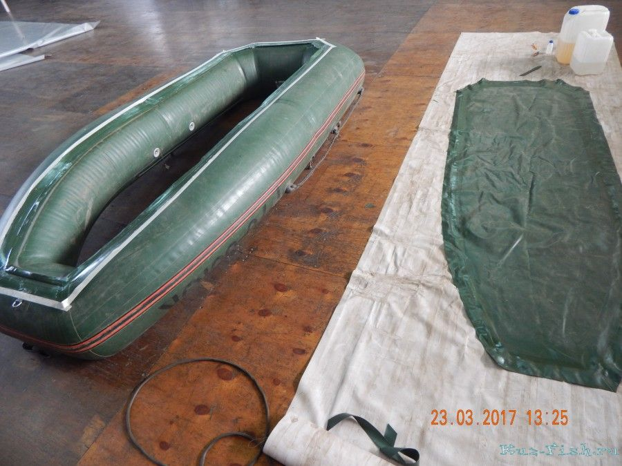 Надувное дно для лодки пвх своими руками 163